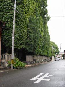 御造替の準備が始まった清野井庭神社(豊受大神宮 摂社)
