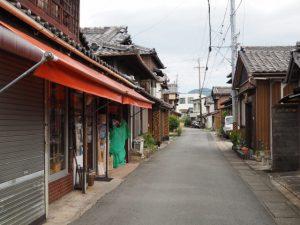 古市街道からの岳道