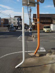 桜新道踏切〜養草寺付近
