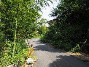 清渓橋跡付近から東方向へ