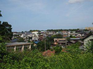 高台(伊勢市尾上町)からの眺望