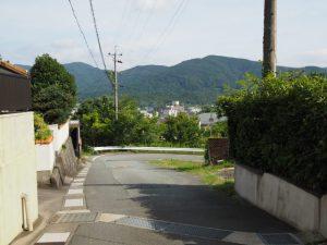 久世戸坂(伊勢市久世戸町)