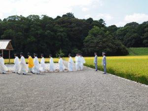 抜穂祭(神宮神田)