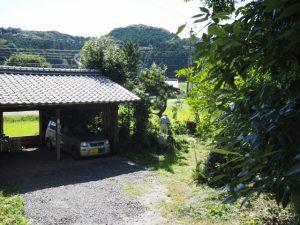 古民家Hibicore付近(津市美里町三郷)