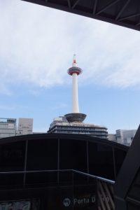 京都駅付近