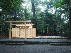 古殿が姿を消した鴨下神社(皇大神宮 末社)