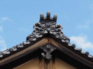 三輪の鬼瓦(大豐和紙工業株式会社)