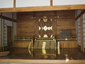 修繕は完了?、豊川茜稲荷神社(茜社)