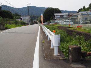 プロパン橋付近(伊勢市藤里町)