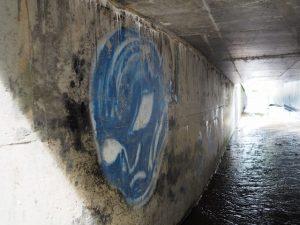 伊勢自動車道の玉城25トンネル付近