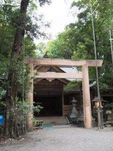 修繕をほぼ終えた豊川茜稲荷神社(茜社)
