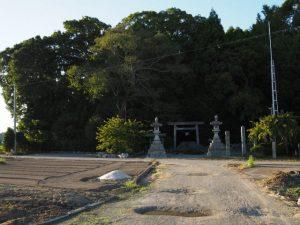 高向大社(伊勢市御薗町高向)