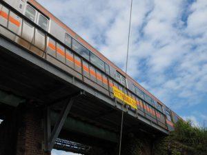 JR参宮線 第二電車架道橋(伊勢市〜五十鈴ケ丘)