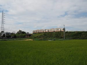 JR参宮線 第二電車架道橋(伊勢市〜五十鈴ケ丘)付近