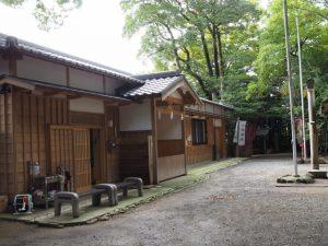 河邊七種神社社務所