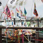 御幣鯛を運ぶ太一御用船(伊勢市神社港)