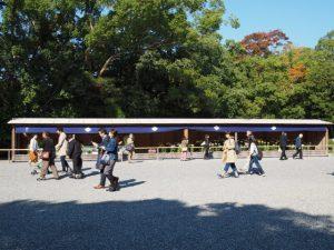 第63回 菊花奉納展示(外宮表参道)