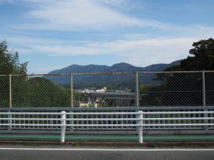 近鉄鳥羽線の遠望(五十鈴川駅方向)