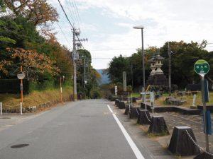桜木町バス停付近(古市街道)
