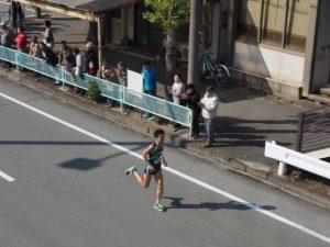 8区 3位 青山学院大学 鈴木塁人 選手(第49回全日本大学駅伝)