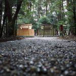 御造替による新旧の殿舎、小社神社(皇大神宮 末社)