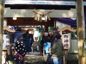 例大祭、伊射波神社(鳥羽市安楽島町)