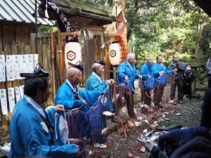 御魚取り神事、伊射波神社(鳥羽市安楽島町)