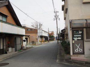 近藤美容院付近(松阪市射和町)