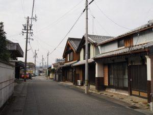 近藤美容院付近〜本宗寺(松阪市射和町)
