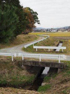 石前神社付近(松阪市中万町)