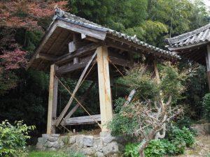 鐘楼、弘道寺(松阪市中万町)