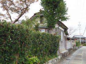 堀木家付近(松阪市中万町)