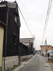 中万町公会堂付近(松阪市中万町)