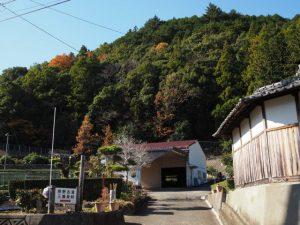 熊野古道三瀬坂峠 三瀬川登り口