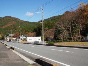 熊野古道と国道42号の交差付近(度会郡大紀町)