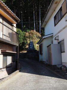 寶積寺への参道(度会郡大紀町)