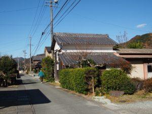 熊野古道、足神さん付近(度会郡大紀町)