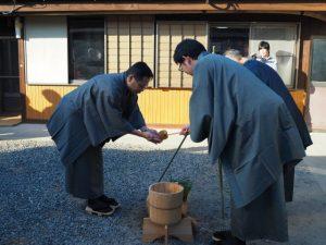 手水ノ儀、オワケ祭(伊勢市御薗町高向)