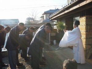 修祓、オワケ祭(伊勢市御薗町高向)