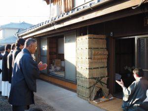 礼拝、オワケ祭(伊勢市御薗町高向)