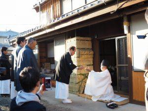撤饌、オワケ祭(伊勢市御薗町高向)