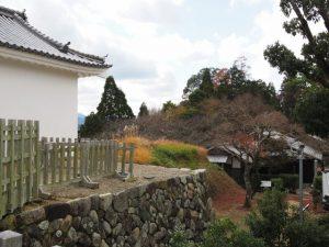 旧亀山城多門櫓付近