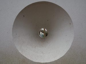 亀山演武場裏の土塀の狭間