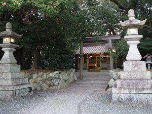 御薗神社(伊勢市御薗町王中島)