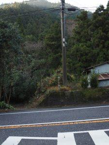 (18)市ノ瀬 212 一里塚跡の標石