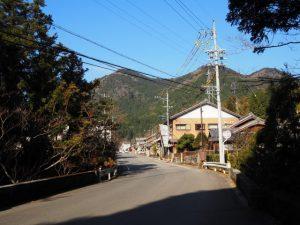 河原谷橋(亀山市関町沓掛と坂下の境界)
