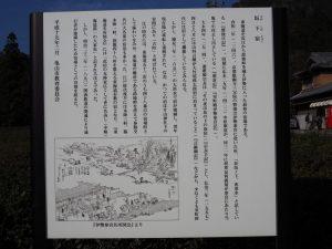 坂下宿の説明板