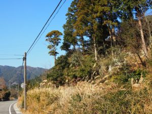 亀山市関町坂下