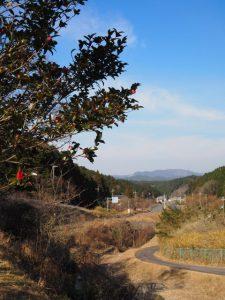 鈴鹿峠路傍休憩地から土山宿方向へ