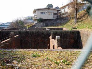 諸戸水道貯水池遺構